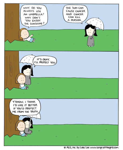 Angry Little Girls for Sep 22, 2011 Comic Strip