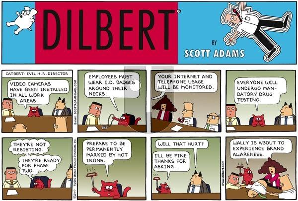 Dilbert - Sunday August 6, 2000 Comic Strip
