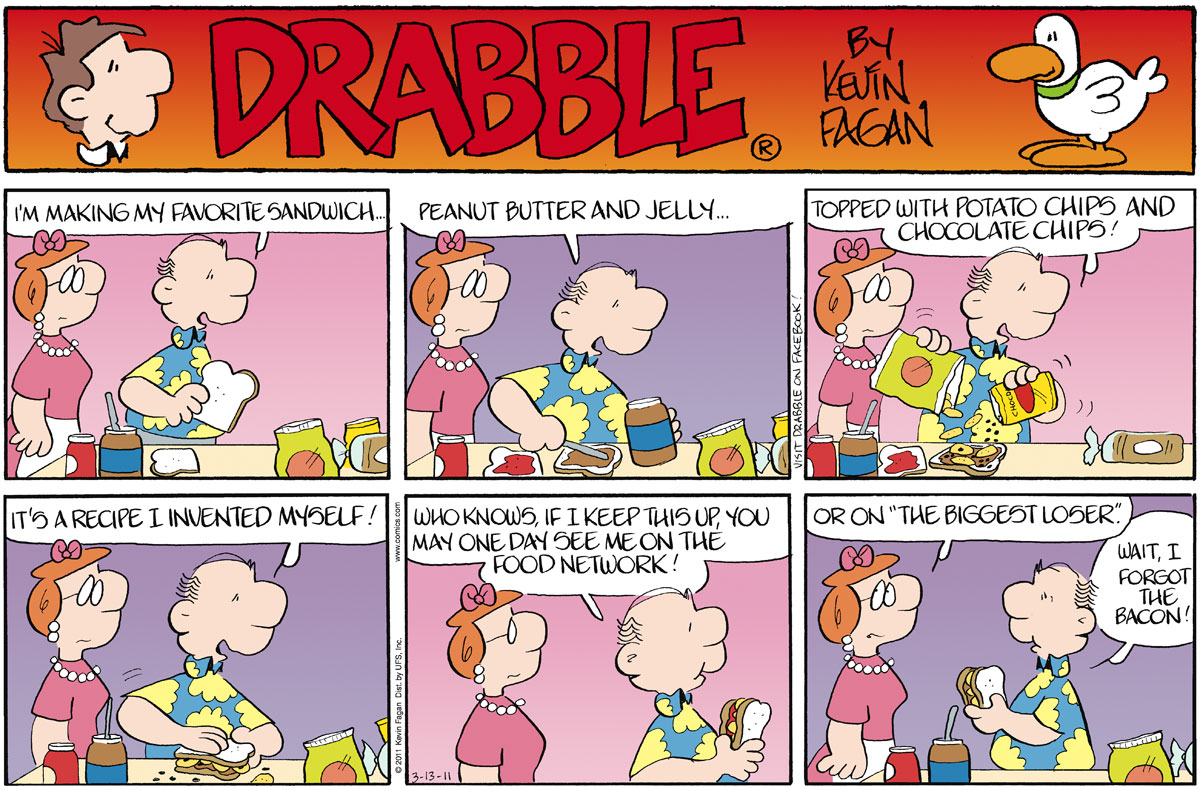 Drabble for Mar 13, 2011 Comic Strip