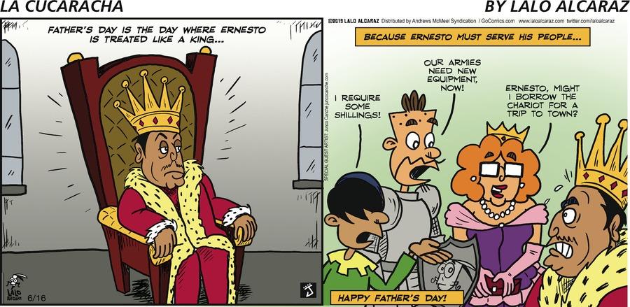 La Cucaracha Comic Strip for June 16, 2019