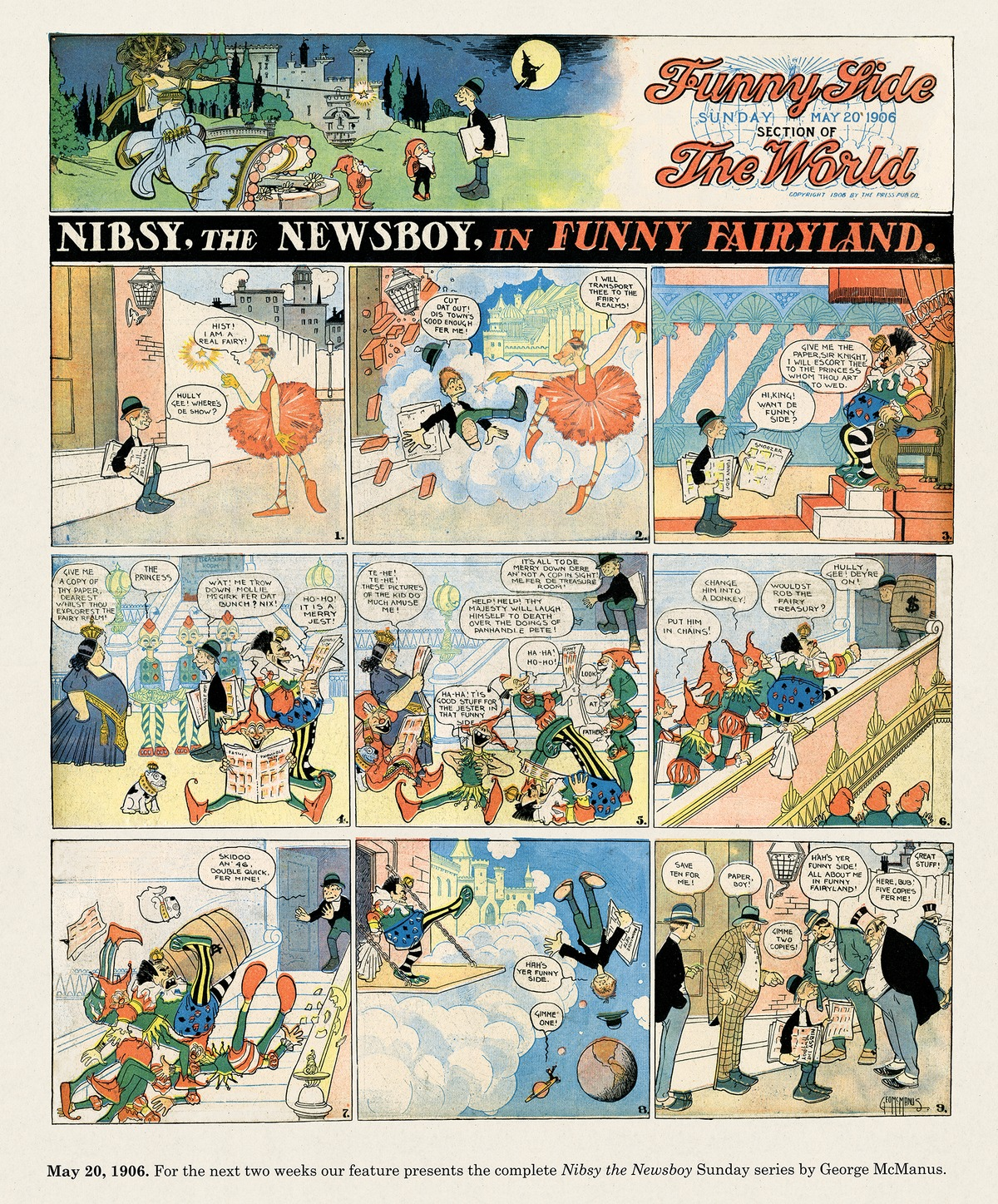 Origins of the Sunday Comics by Peter Maresca on Wed, 24 Feb 2021