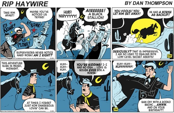 Rip Haywire on Sunday May 24, 2020 Comic Strip