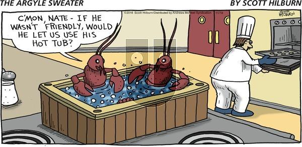 The Argyle Sweater - Sunday November 18, 2018 Comic Strip