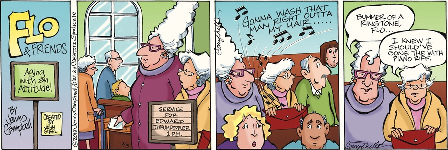 Flo and Friends for Feb 3, 2013 Comic Strip