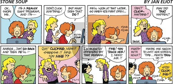 Stone Soup on Sunday July 11, 2010 Comic Strip