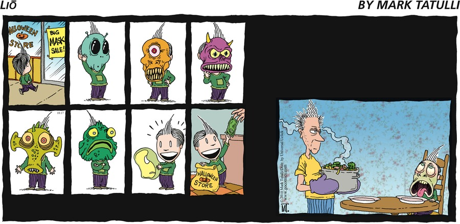 Lio Comic Strip for October 17, 2010