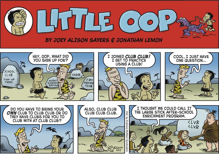 Alley Oop Comic Strip for April 28, 2019