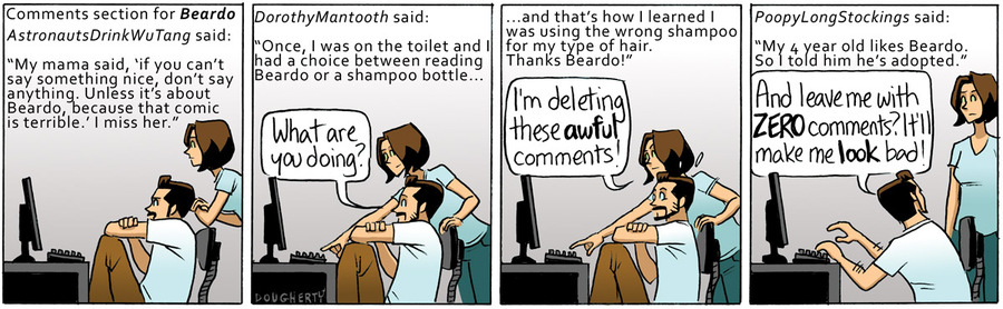 Beardo for Dec 1, 2012 Comic Strip