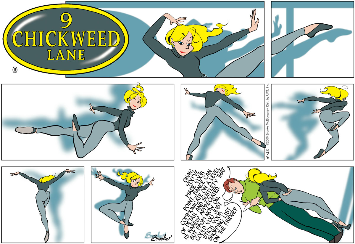 9 Chickweed Lane for October 22, 2006 Comic Strip