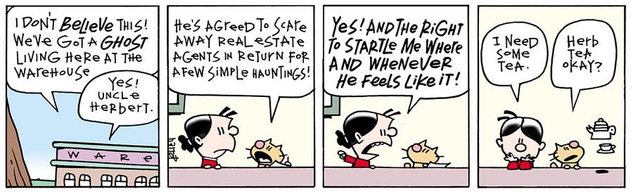 Ten Cats for Aug 16, 2013 Comic Strip