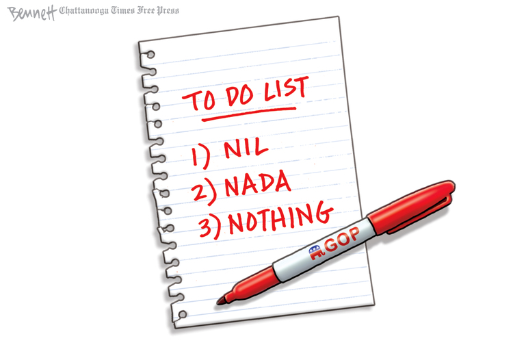 Clay Bennett by Clay Bennett on Wed, 06 Oct 2021