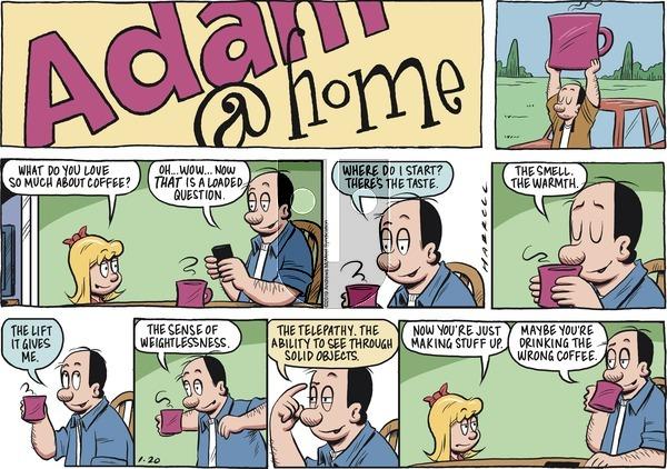 Adam@Home on Sunday January 20, 2019 Comic Strip