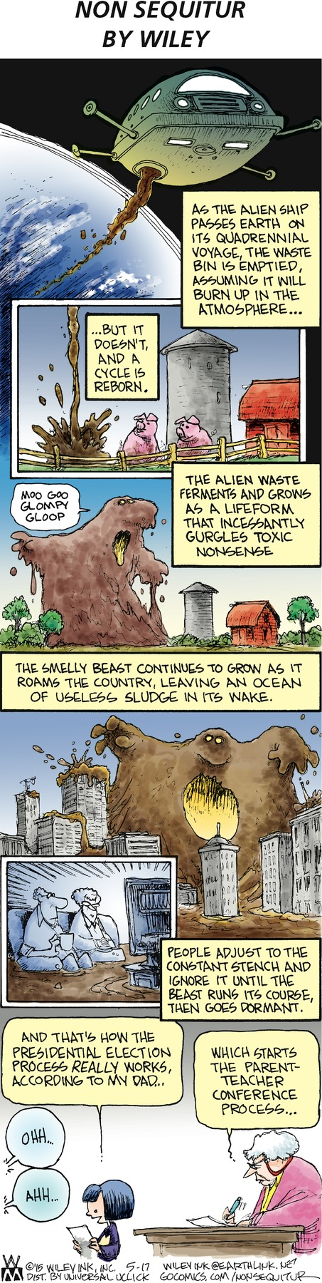 Non Sequitur Comic Strip for May 17, 2015