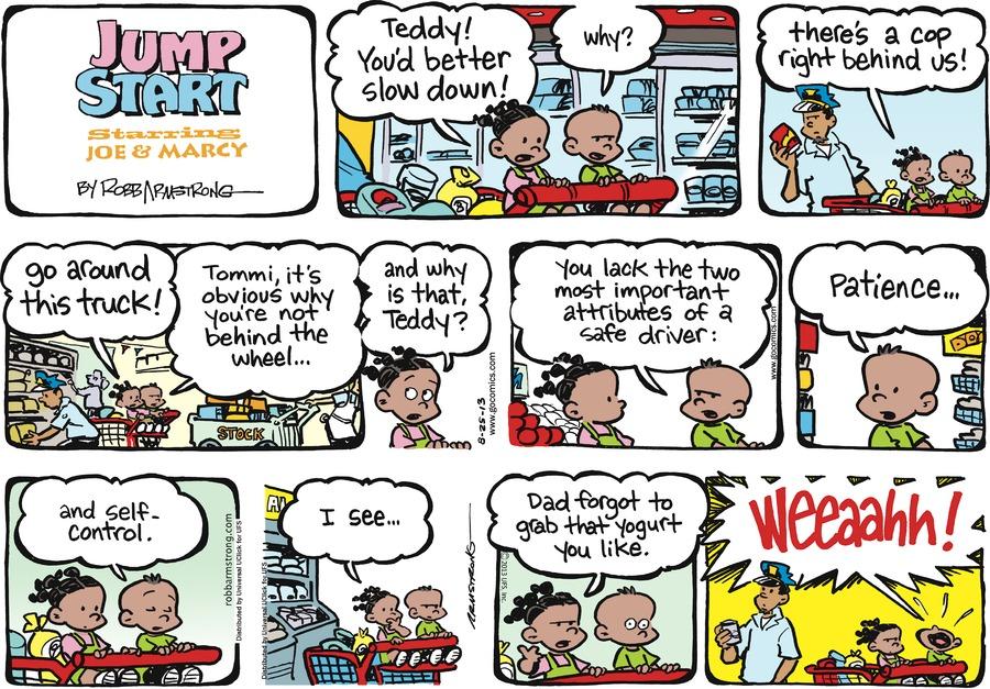 JumpStart for Aug 25, 2013 Comic Strip