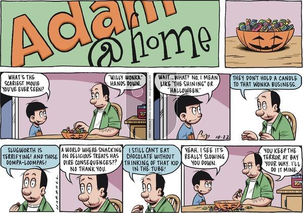 Adam@Home on Sunday October 22, 2017 Comic Strip