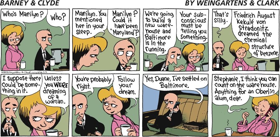 Barney & Clyde Comic Strip for June 16, 2013