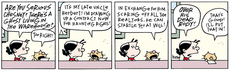 Ten Cats Comic Strip for August 15, 2013