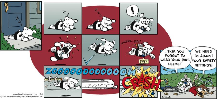 Bleeker: The Rechargeable Dog by Jonathan Mahood on Sun, 26 Jul 2020