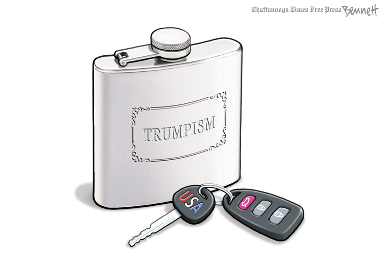 Clay Bennett Comic Strip for September 15, 2019