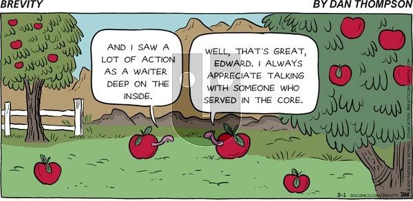 Brevity on Sunday March 1, 2020 Comic Strip