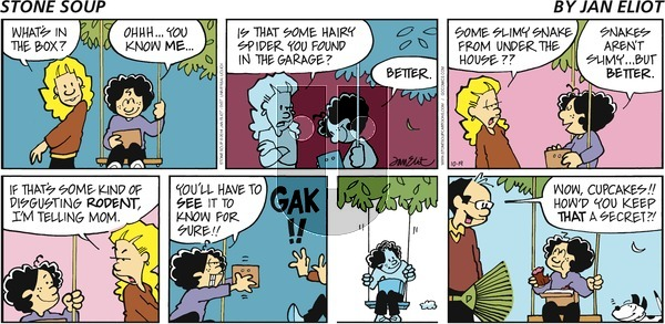 Stone Soup - Sunday October 19, 2014 Comic Strip