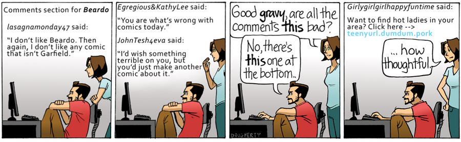 Beardo for Nov 30, 2012 Comic Strip