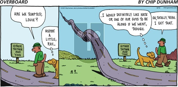 Overboard on Sunday June 13, 2021 Comic Strip