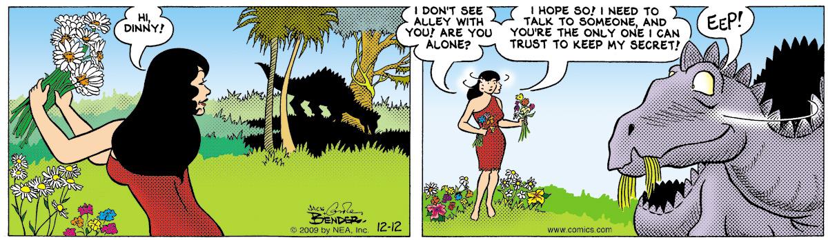 Alley Oop for Dec 12, 2009 Comic Strip