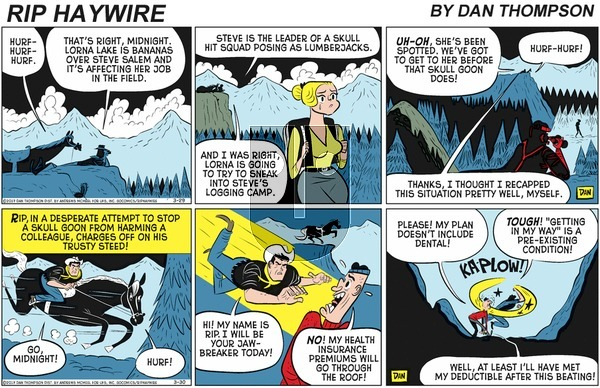 Rip Haywire on Sunday June 7, 2020 Comic Strip