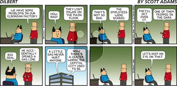 Dilbert on Sunday April 19, 2020 Comic Strip