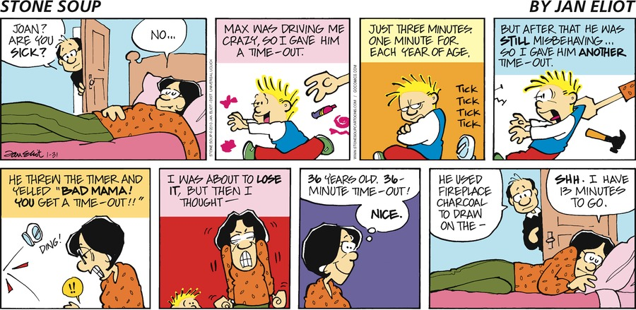 Stone Soup Comic Strip for January 31, 2010