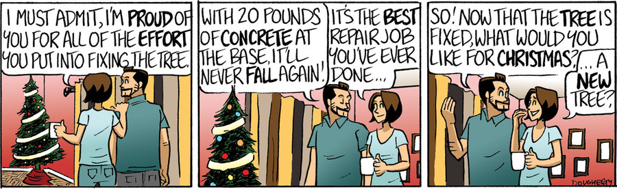 Beardo for Dec 13, 2012 Comic Strip