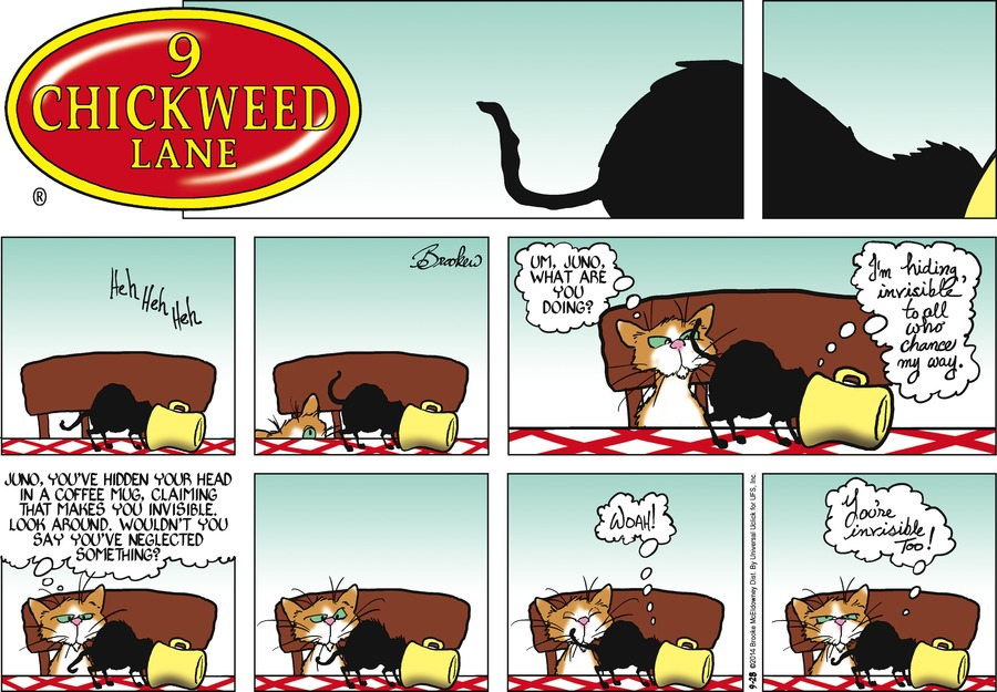 9 Chickweed Lane for Sep 28, 2014 Comic Strip