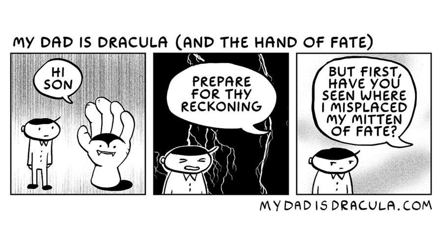 My Dad is Dracula by Jason Poland on Fri, 30 Oct 2020