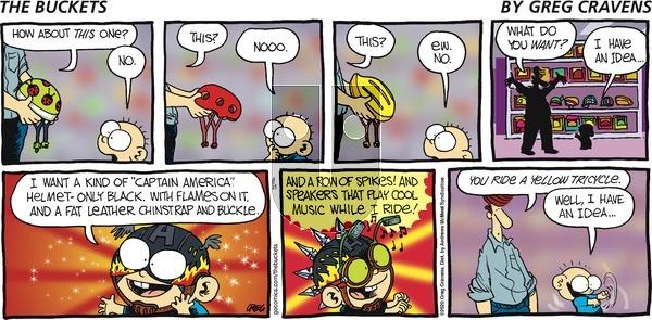 The Buckets - Sunday August 23, 2020 Comic Strip
