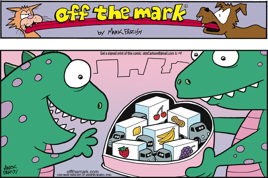 Off the Mark by Mark Parisi on Sun, 14 Feb 2021
