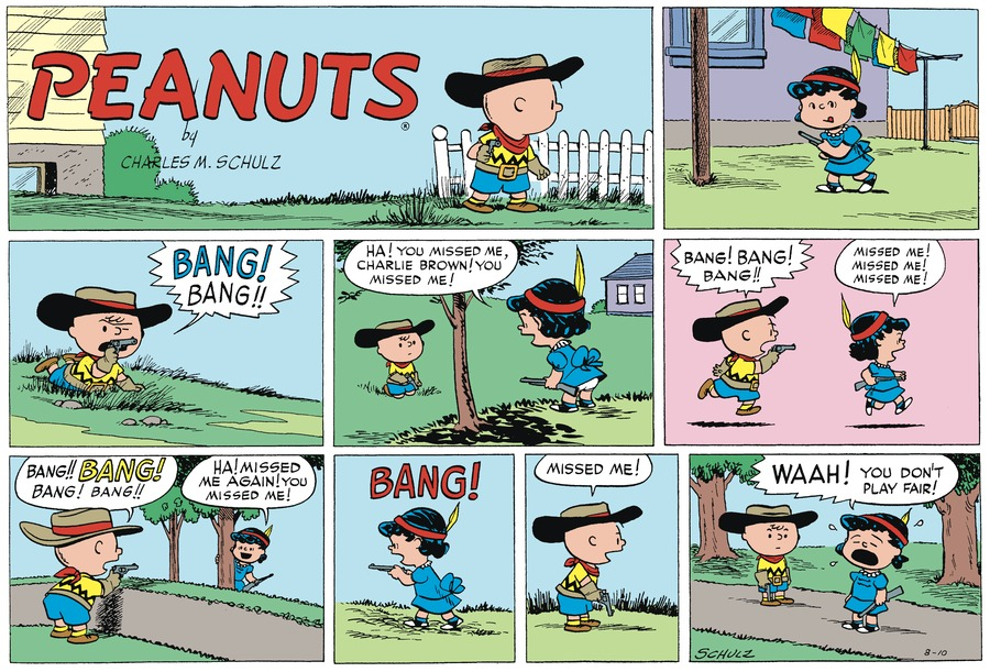 Peanuts Begins Comic Strip for August 09, 2020