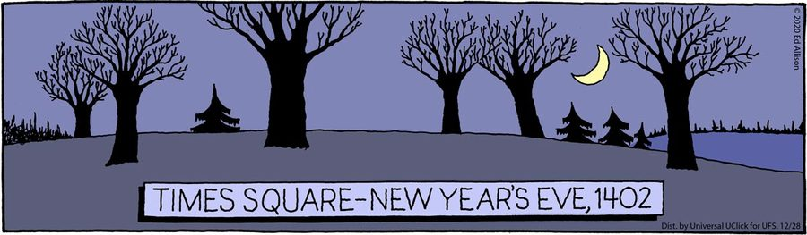 Unstrange Phenomena Comic Strip for December 28, 2020