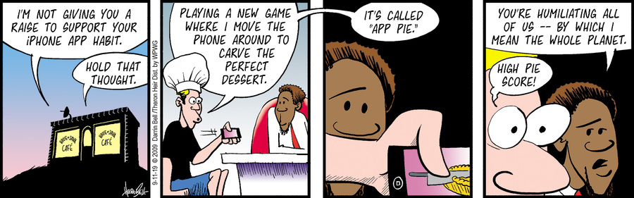 Rudy Park Comic Strip for September 11, 2019