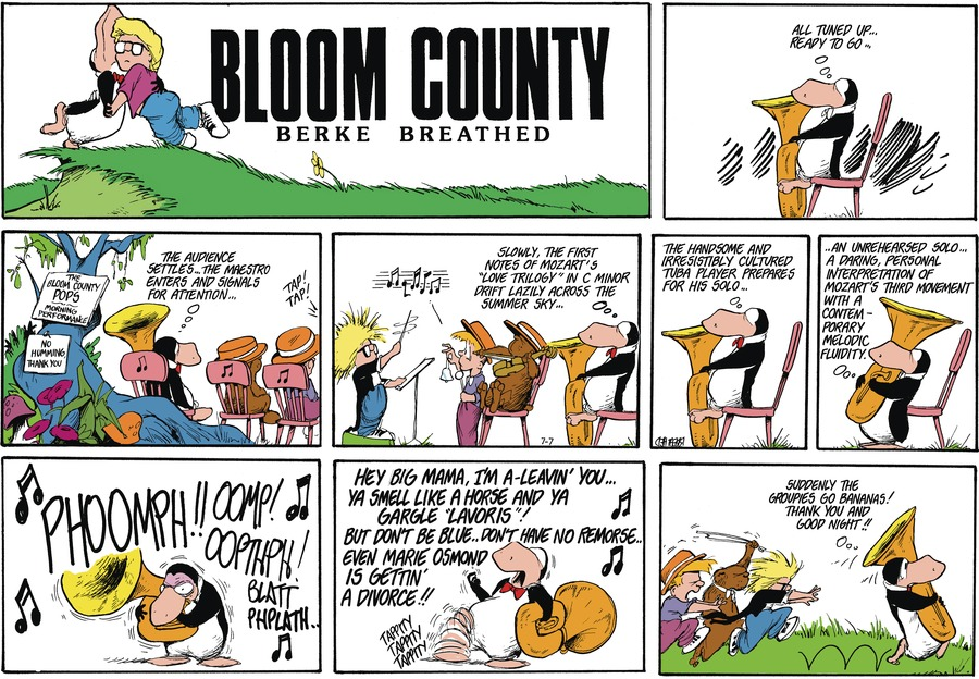 Bloom County Comic Strip for July 08, 2021