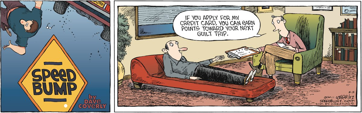 Speed Bump Comic Strip for August 14, 2011
