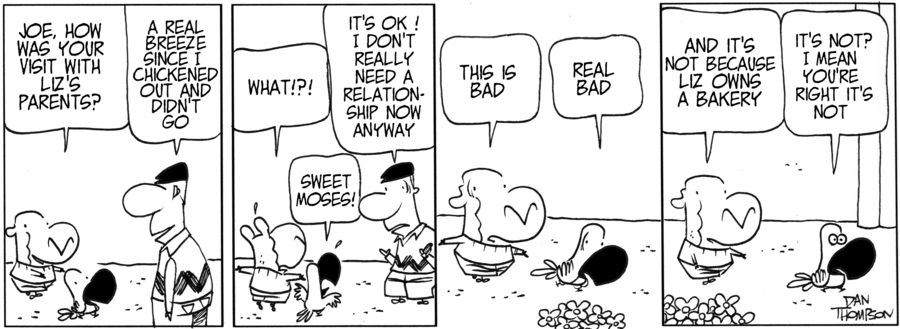 Lost Sheep Comic Strip for July 09, 2013