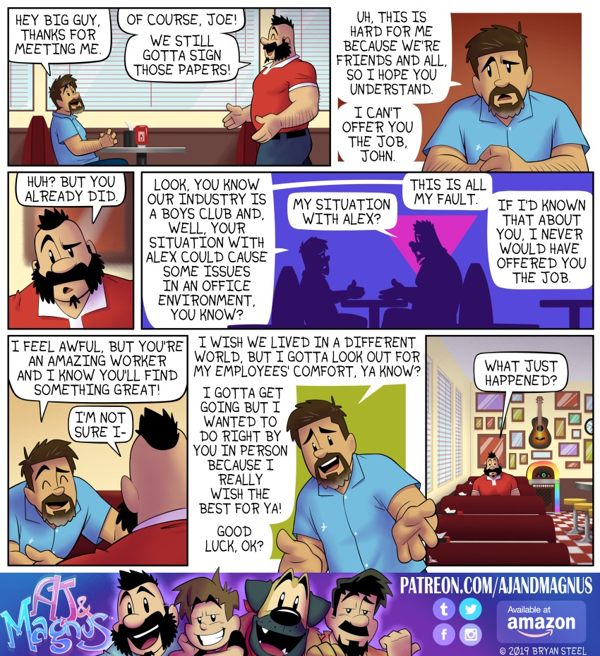 AJ and Magnus Comic Strip for July 14, 2019