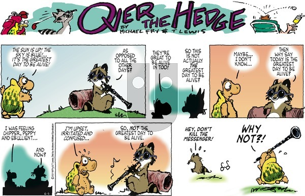 Over the Hedge on Sunday June 6, 2021 Comic Strip