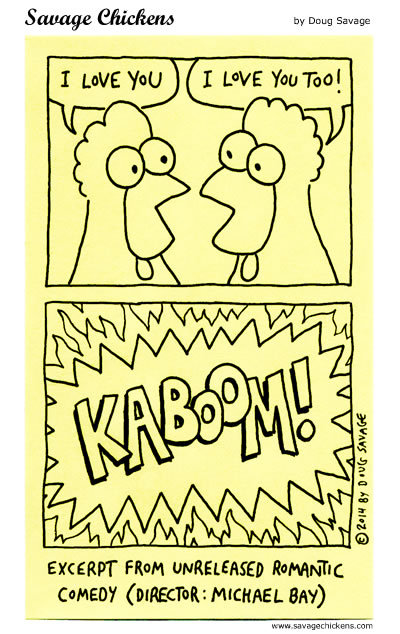 Savage Chickens for Jul 12, 2018 Comic Strip