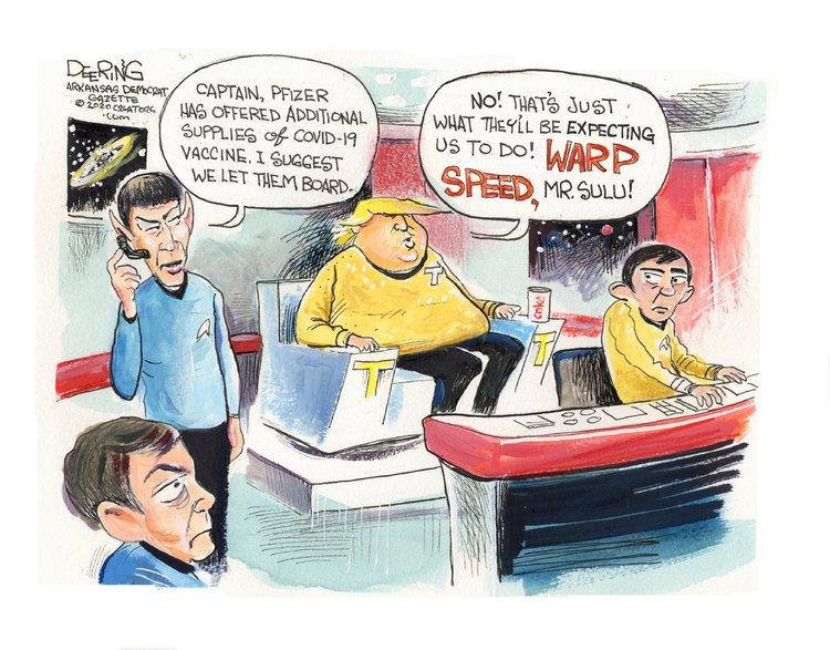 John Deering Comic Strip for December 10, 2020