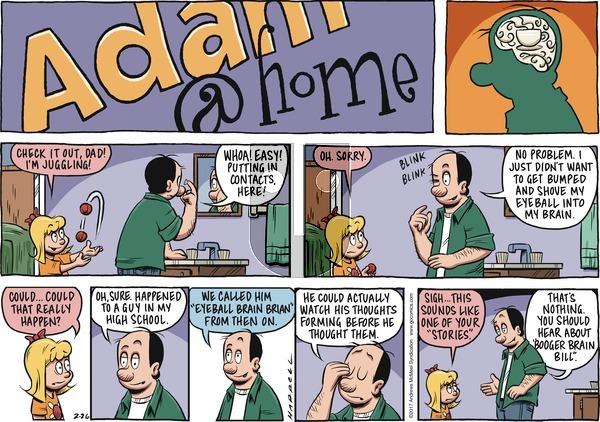 Adam@Home on Sunday February 26, 2017 Comic Strip