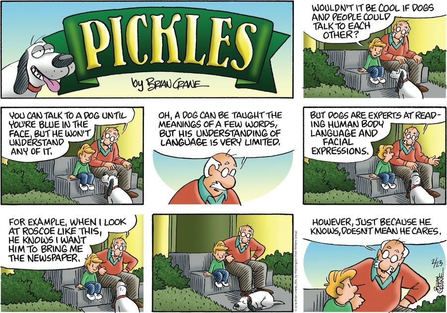 Pickles for Feb 23, 2014 Comic Strip