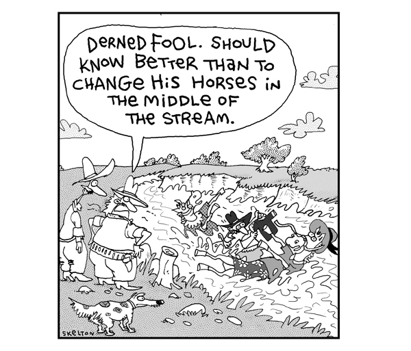 2 Cows and a Chicken for Apr 16, 2013 Comic Strip