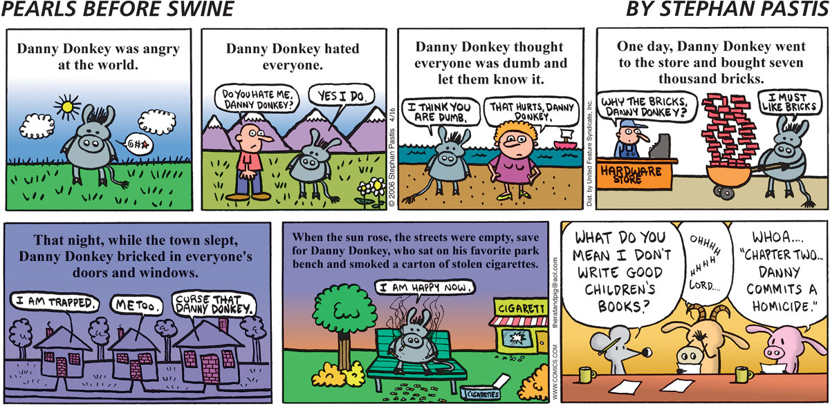 Pearls Before Swine Comic Strip for April 16, 2006